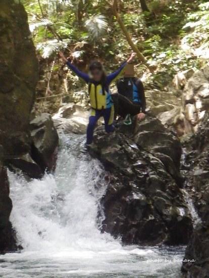 ター滝沢登りトレッキングツアー 飛び込み