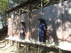 甲賀忍術村 壁渡り