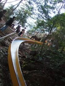 京都府立山城総合運動公園 冒険の森 滑り台
