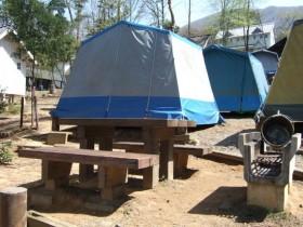 ガリバー青少年旅行村 テント