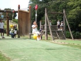 兵庫県立播磨中央公園 ターザンロープ