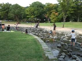 兵庫県立播磨中央公園 水遊び場