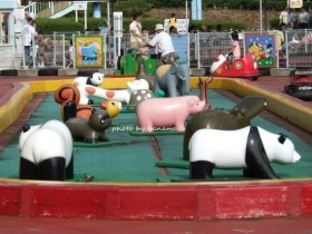 兵庫県立播磨中央公園おもしろ自転車 幼児用広場