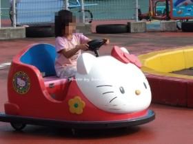 兵庫県立播磨中央公園おもしろ自転車 キティ