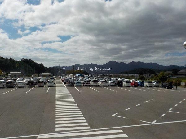 ユニトピアささやま 駐車場混雑