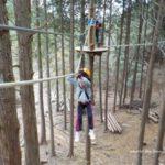 冒険の森in能勢 小学生子供と一緒 体験ブログ