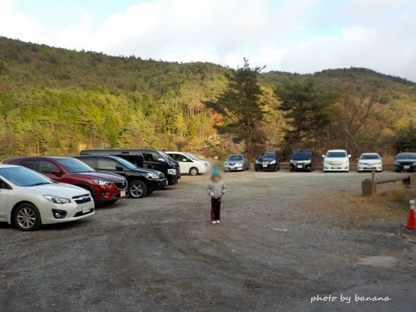 冒険の森in能勢 駐車場