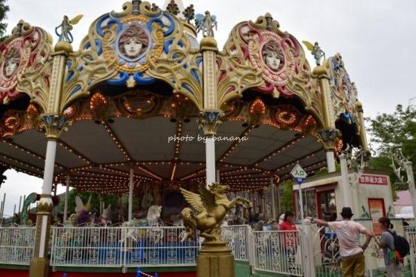 姫路セントラルパーク 遊園地 メリーゴーランド