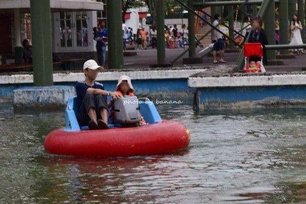 姫路セントラルパーク 遊園地 ボート