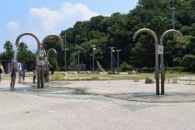 多賀の浜海水浴場・シャワー