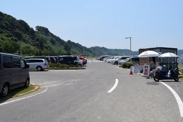 多賀の浜海水浴場・駐車場