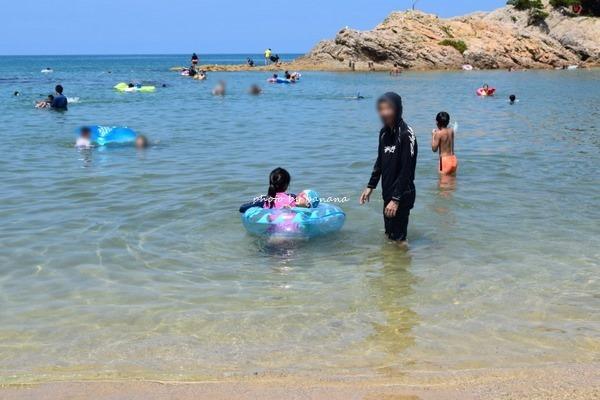 子供と行く浦富海水浴場