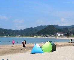 鳥取浦富海水浴場