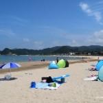 浦富海水浴場(鳥取県岩美)口コミ体験ブログ
