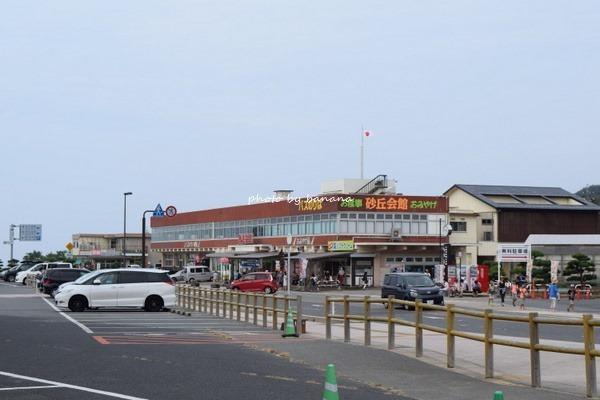 子供と一緒に鳥取砂丘 駐車場