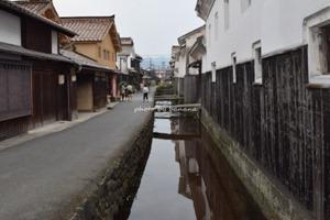 鳥取・倉吉 白壁土蔵