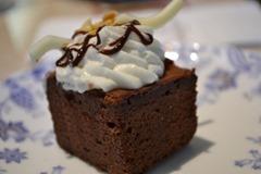 ルネッサンスリゾートオキナワ チョコレートケーキ