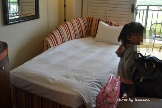 ホテル日航アリビラ プレミアムツイン 4ベッド