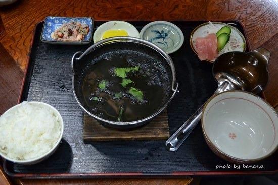 アリビラ周辺レストラン 大木海産物レストラン イカスミ汁
