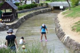 しあわせの村 水遊び
