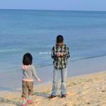 3月アリビラ ビーチ散策
