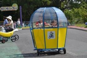 万博 おもしろ自転車