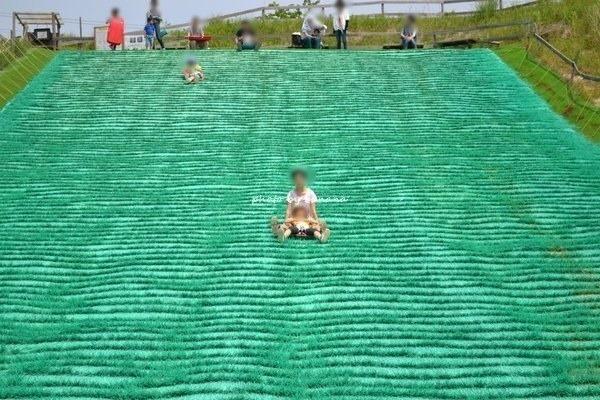 ブレーメの丘 芝滑り