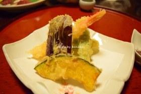 黒川温泉 奥の湯 食事(天ぷら)