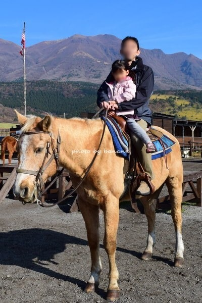 阿蘇・子どもと一緒に乗馬体験