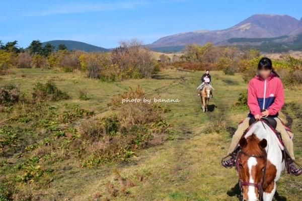 くじゅう子どもでも乗れる乗馬体験・レゾネイトくじゅう乗馬牧場 ココペリウェスタンライディング