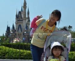 大阪発子連れ東京ディズニーランド旅行2012