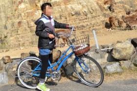 ウォーキングサファリの自転車