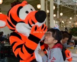 大阪発東京ディズニーランド旅行 2日目 プーさんレストラン