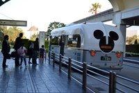 東京ディズニーランド シェラトンホテル行のバス