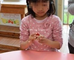 モクモク手作りファームイチゴ大福づくり体験教室