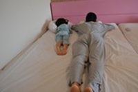 シェラトンホテル ベッド幅140㎝