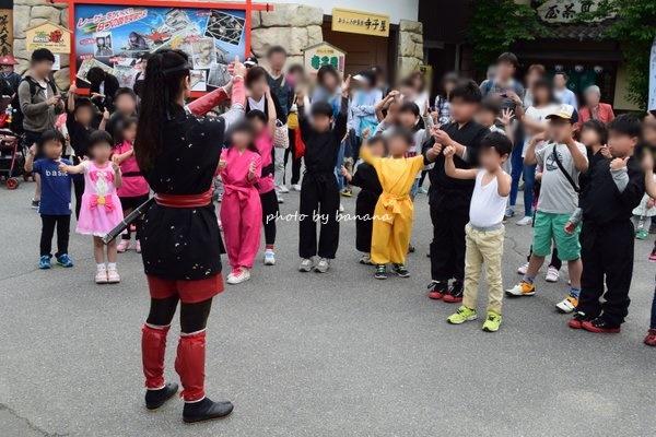 東映太秦映画村 忍者教室の様子ブログ