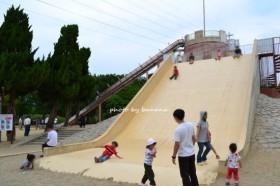 大泉緑地 冒険ランド 滑り台