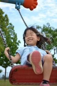 大泉緑地 冒険ランド 幼児用ブランコ