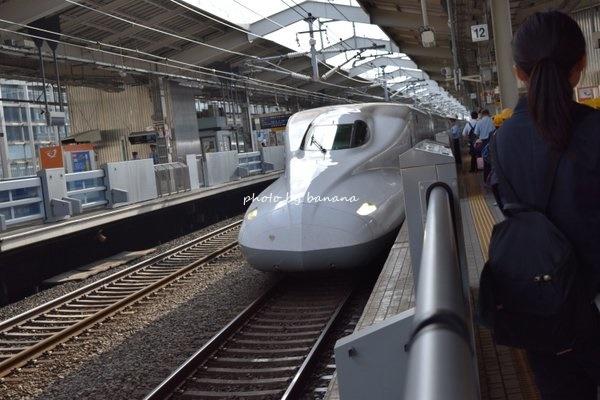 新幹線で母子2人ディズニー旅行