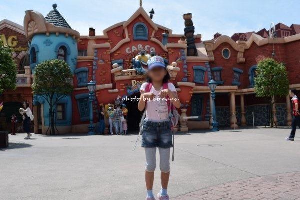 母子ディズニー旅行 カトゥーンスピン平日待ち時間