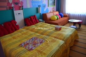 ホテル近鉄ユニバーサルシティ セサミの部屋 ユニバーサルワクワクハッピーフロア 宿泊口コミブログ