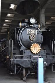 梅小路公園 蒸気機関車