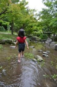 うめこうじ公園 水遊び