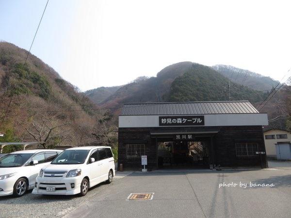 妙見山 黒川駅 駐車場