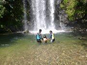 子連れター滝リバートレッキングツアー