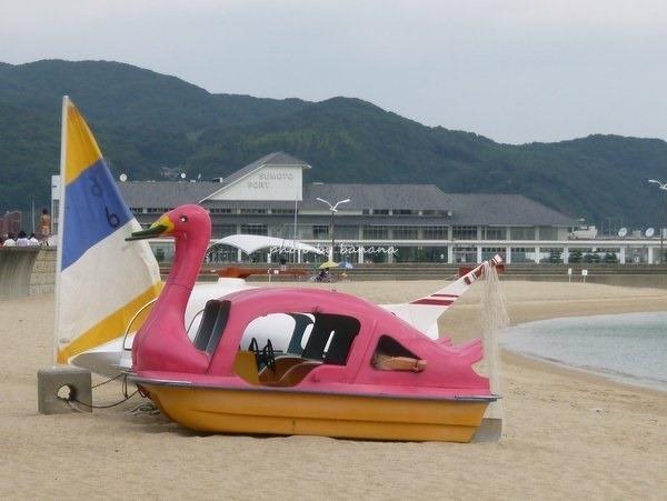 淡路島洲本・大浜海水浴場 貸しボート