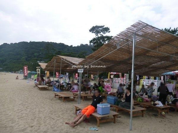 淡路島洲本・大浜海水浴場 休憩所
