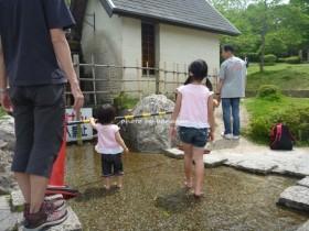 京都府立山城総合運動公園 水遊び