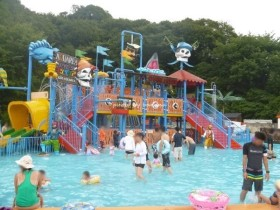 姫路セントラルパーク 子供用プール